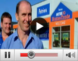 Mitre 10 Interview Video Player